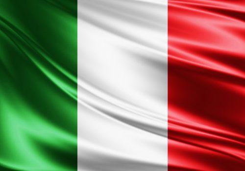 Italienische Flagge - Senderpaket