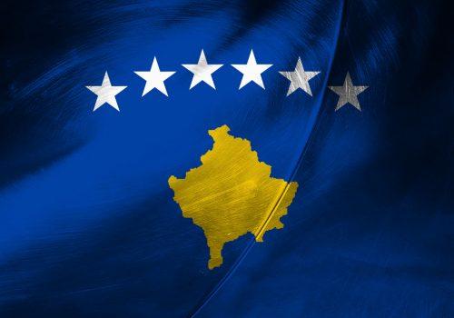 Flagge - Kosovo