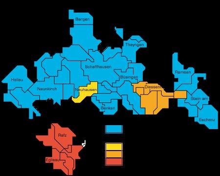 Versorgungsgebiet Sasag 2018