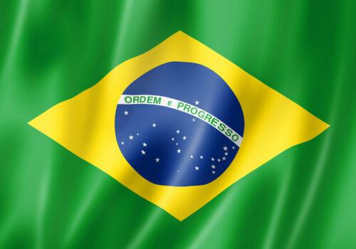 Flagge Brasilien - Brasilianische Sender