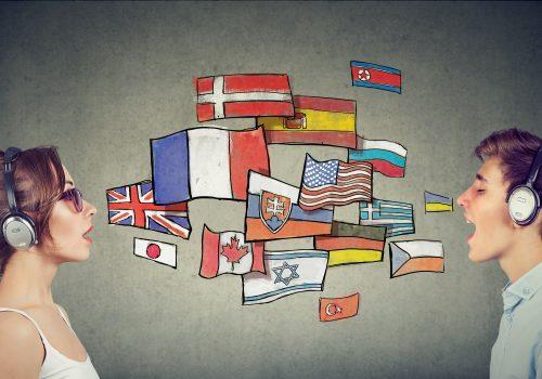 Senderpakete Sprachen