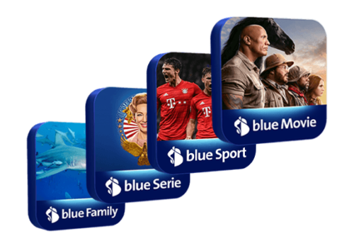 blue Supersenderpaket HD