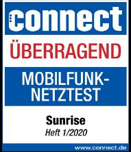 Connect Mobilfunknetztest Bewertung Überragend