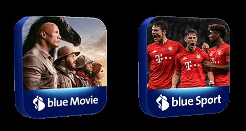 blue Senderpaket Aktion - Sport Movie
