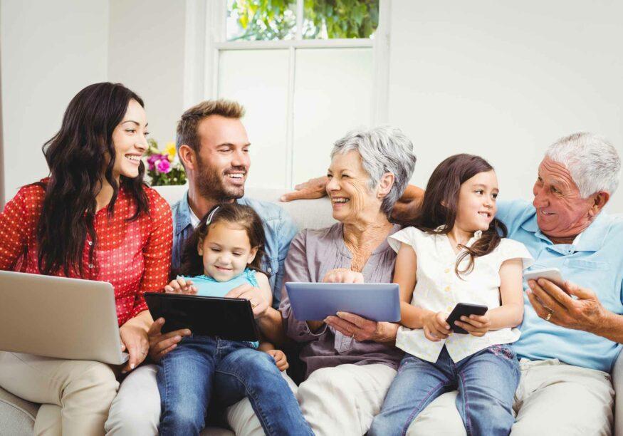 Internet für Familien und Vielsurfer