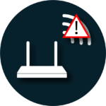 Störsignale WLAN Icon
