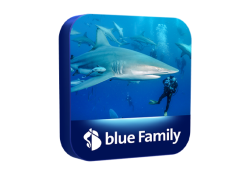 blue Senderpaket Family