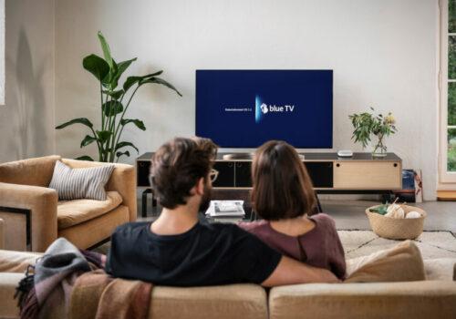 Blue+ am Fernseher