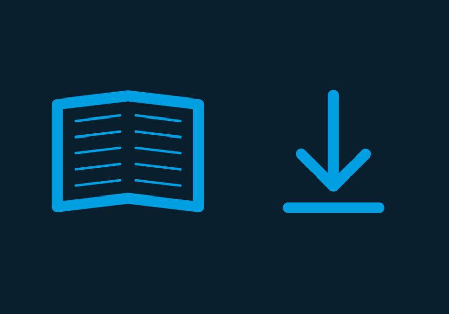 Icon für Anleitungen und Downloads