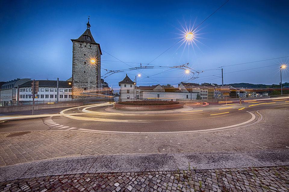 Umzug in die Stadt Schaffhausen