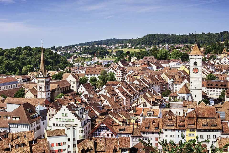 Aussicht über Schaffhausen