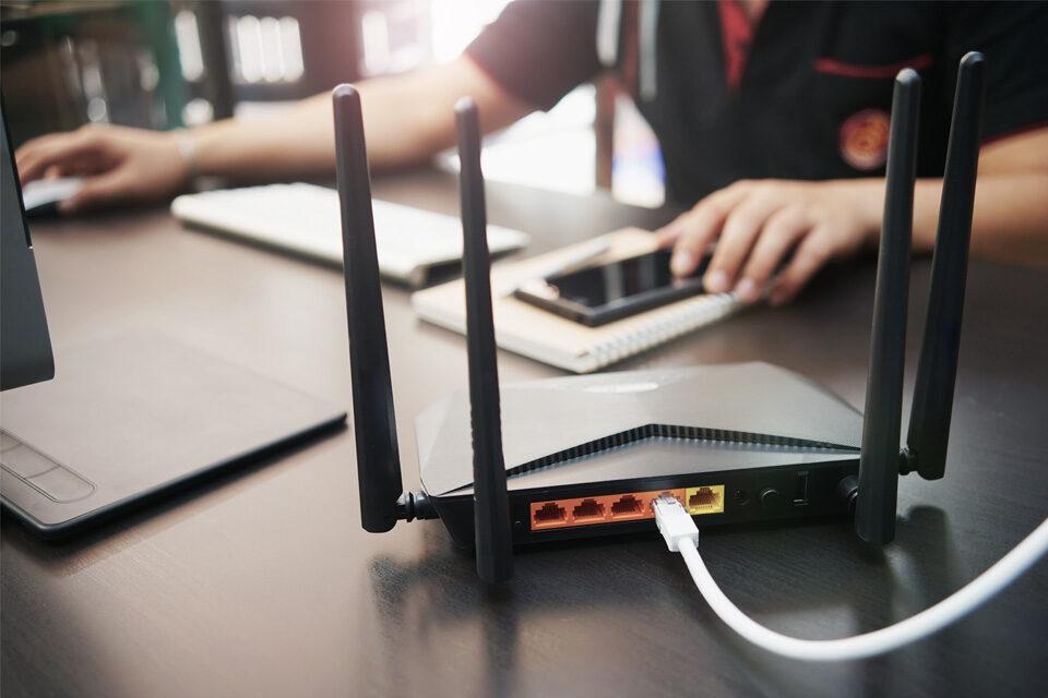 Router für WLAN Empfang