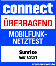 Connect Sunrise - Bestes Netz 2021