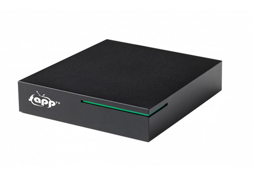 Android Box mit sappTV Logo