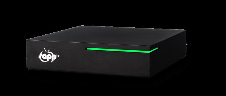 sappTV-Box zugeschnitten