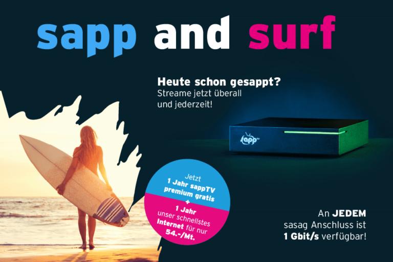 sapp and surf Promotion - Webimage