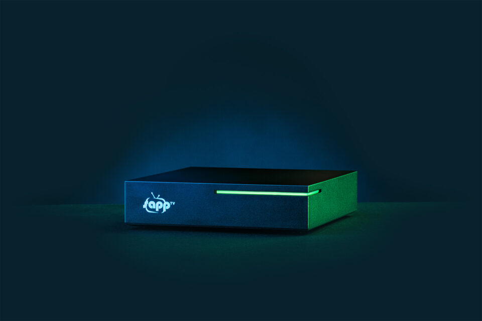 sappTV Box - TV Streaming plattform Keyvisual